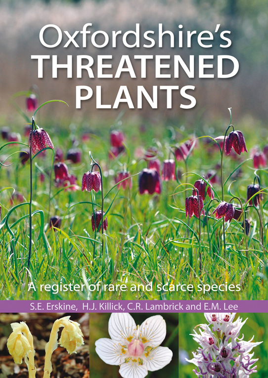 Oxfordshire's Theatened Plants